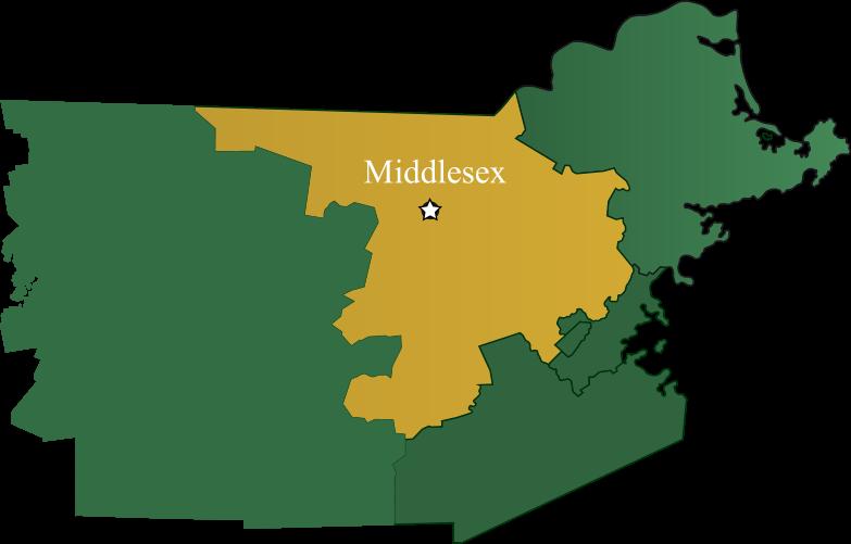 Chelmsford, Massachusetts map